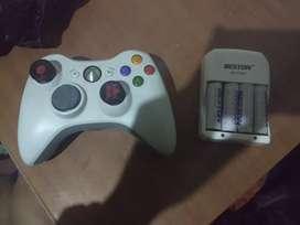 Control de xbox 360 original perfecto y carga pilas
