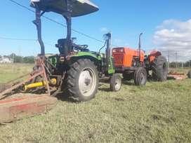 Corte de pasto con tractor a domicilio