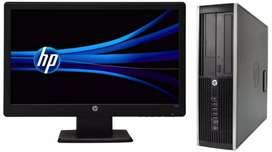 Oferta hp core i3  con monitor 19 garantía