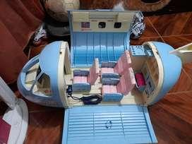 Avion Barbie 1999 Azul