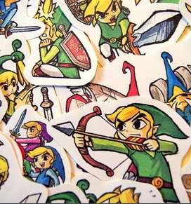 Stickers Legend Of Zelda Minish Cap Leyenda de Zelda Hyrule