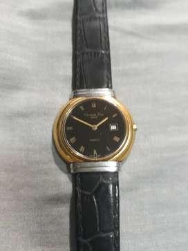 Reloj Christian Dior Swiss negociable de cegunda