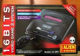 Consola Alien 16 Bit