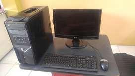 Vendo computadora de escritorio Pentium Dual Core
