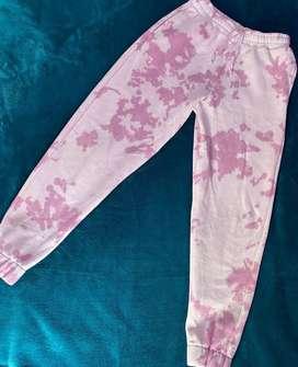 Jogger tie dye rosa