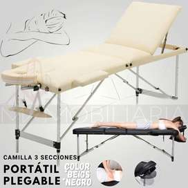 Camilla Portatil Plegable Ideal Para Masaje Spa Tooto