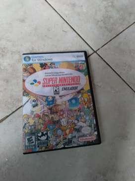 Vendo emulador lleno de juegos Super Nintendo para computadora Soy de Guayaquil y hago envíos