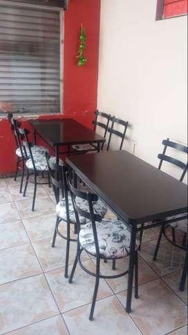 Por falta de tiempo se vende cafetería Restaurant con excelente clientela