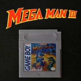 Juego MEGA MAN 3 para Nintendo Game Boy