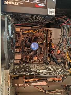 Combo actualización intel i5 4440 , gpu amd r9 270x , mother h81m y fuente sentey 600 watts