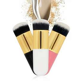 Brocha Kabuki Para Base y Maquillaje Liquido