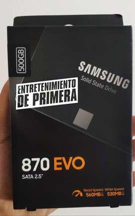 Ssd Samsung 870 Evo 500 GB Sata 2.5