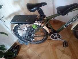 Permuto Cambio  q hay para cambio bicicleta todo terreno. Apta para trabajar terreno