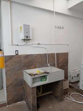 Reparaciones internas de gas natural