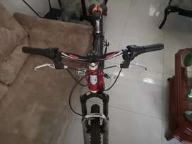 Bicicleta en aluminio JD