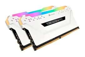 MEMORIA RAM DDR4 3200MHZ CORSAIR VENGEANCE RGB PRO 16GB (2x8gb) NUEVOS MODITECPERU2025 PAGO CONTRAENTREGA ENVIOS