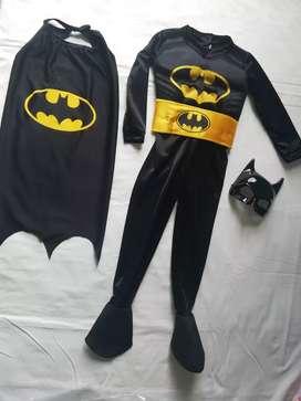 Disfraz batman y batichica nuevos excelente calidad