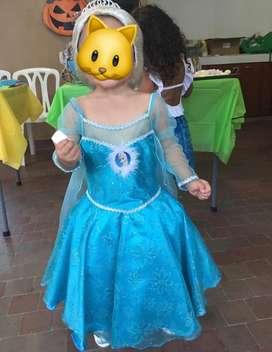 Disfraz de Frozen vestido