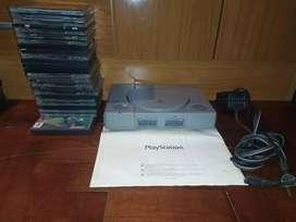 Play station 1 con más de 25 juegos