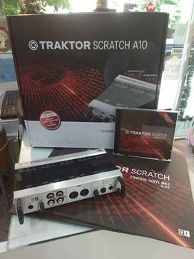 Traktor Scratch A10 Placa Audio