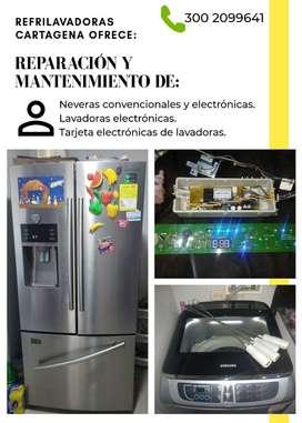 Servicio técnico en neveras y lavadoras electrónicas