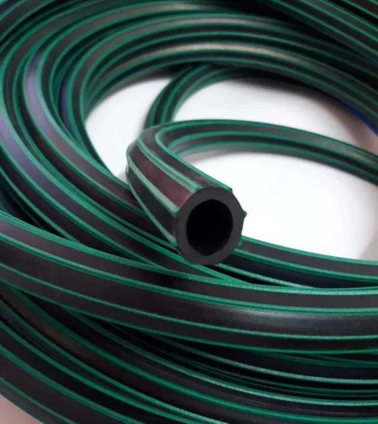 "Manguera 1//2"", material EPDM. Resistente intemperie. (Rollo de 25 mts) 0"