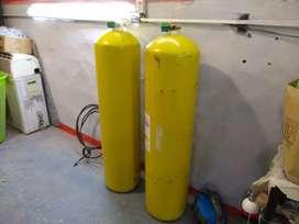 Equipo de GNC 2 tubos de 60 funcionando