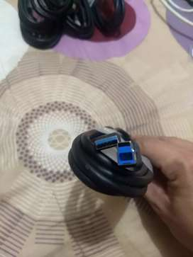 Cable Usb 3.0 Tipo A A B  1.8 Mts Genuino Dell
