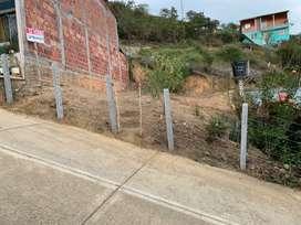 Vendo lote barrio el mirador(ARATOCA)