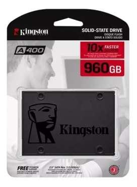 Disco Estado Solido Ssd 960gb Kingston A400 Nuevo