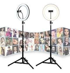 Aro Luz Led 33 Cm Para Fotografia Y Video Control + Tripode