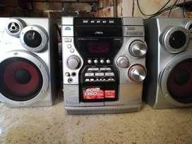 Mini Componente Aiwa JAX-PK3 MP3 Radio AM/FM