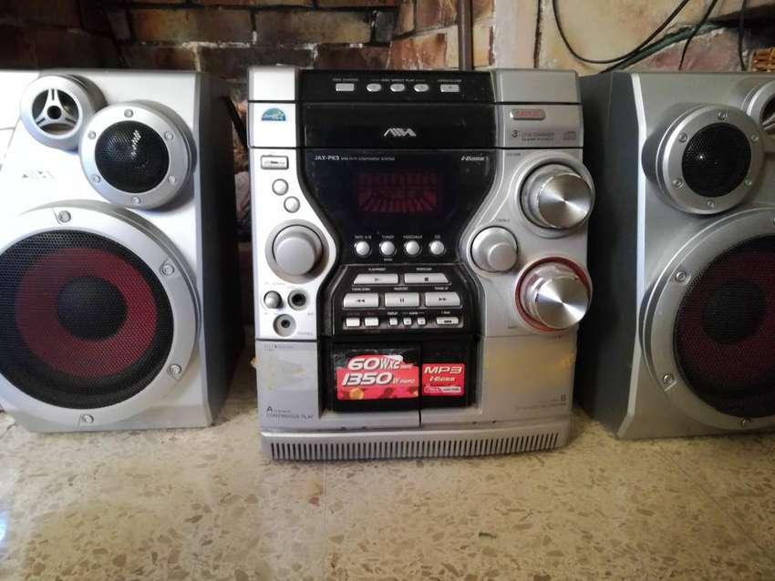 Mini Componente Aiwa JAX-PK3 MP3 Radio AM/FM 0