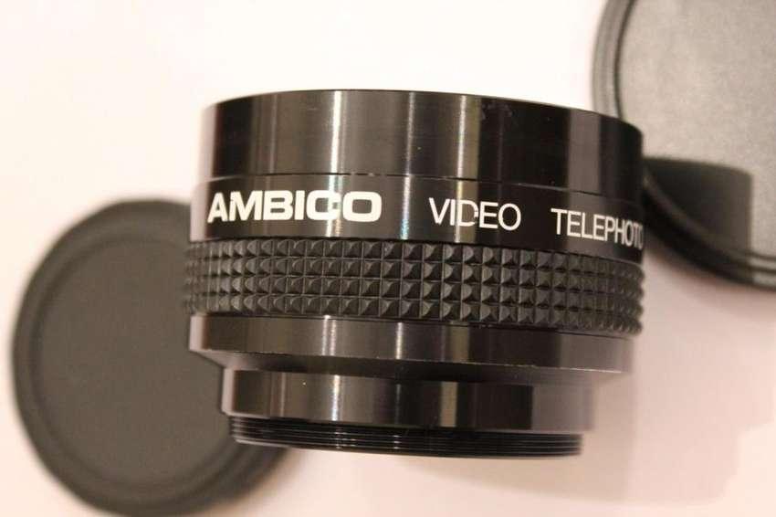 LENTE AMBICO para VIDEO 2.0X ALTA RESOLUCIÓN ORIGEN JAPÓN 0