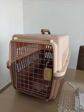 Kennel Transportador para mascotas Perros Medianos Pequeños
