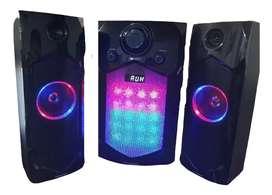 Teatro En Casa Equipo Sonido Bluetooth Profesional 30w + 10w X2