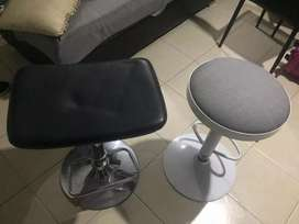Ganga 3 sillas con neumático en excelente estado,lleve las tres por el precio de una