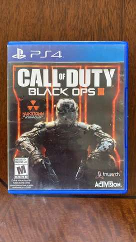 Call of Duty Black Ops 3 PS 4