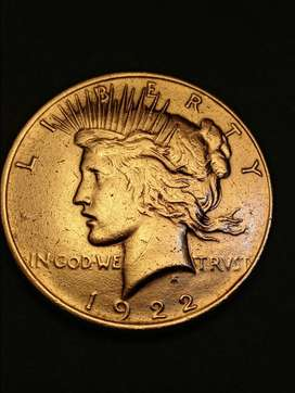 #Moneda 1 Dollar peace 1922 EEUU