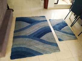 Se vende juego de (02) tapetes o alfombras