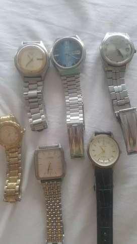 Vendo mis relojes automaticos antiguos