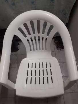 Vendo sillas blanca