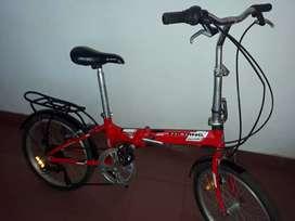 Bicicleta plegable aurorita folding 20