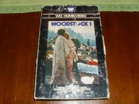 WOODSTOCK I Y II, VIDEO RECITAL VHS