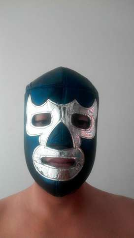 Lucha Libre Mascara Mexico Blue Demon