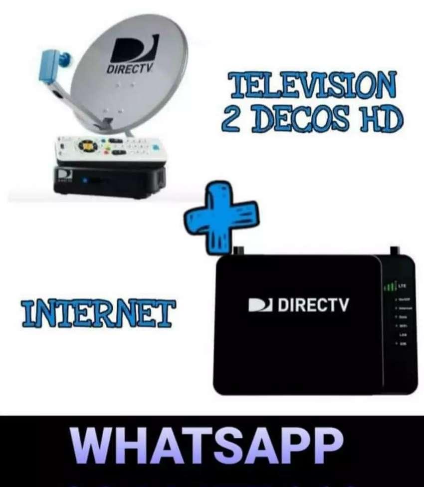 DIRECTV TE TRAE TELEVISIÓN SATELITAL SATELITAL, INTERNET INALÁMBRICA ILIMITADOS, GRATIS DIRECTV GO