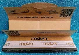 Papel para Enrolar King Size Orgánico 32 Cueros más 32 filtros x 4 cajas