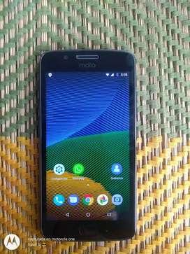 Vendo Motorola moto g5 en perfecto estado libre para todo operador