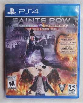 Saints Row 4 remastered Playstation 4
