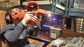 Alquiler Vr Realidad Virtual Htc Vive Oculus Arcade Juegos